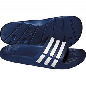 Sandalia adidas Duramo Slide Color Azul Envío Gratis