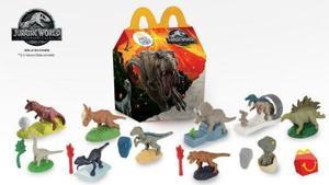 Jurassic World 2 Mcdonals Jurassic Park Mc Donals Oferta!