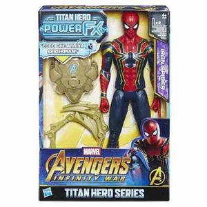 Power Pack Spider-man 12 Pulgadas Avengers Marvel