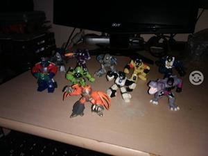 Set figuras Transformers minis