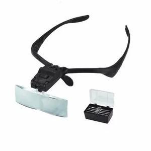 Diadema Ojo Lupa Reparacion Luz Led Gafas Lupa Joyero Optica