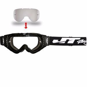 Goggles Blk Jt Racing Gsx +mica De Regalo Motocross No Fox