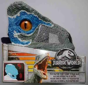 Jurassic World Máscara Interactiva De Raptor Blue Con