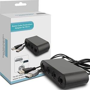 Adaptador De Control Gamecube, Cbsky® Wii U Adaptador Gamec