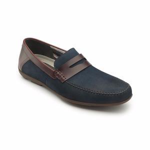 Calzado Zapato Flexi  Azul Oficina Casual Vestir Salir