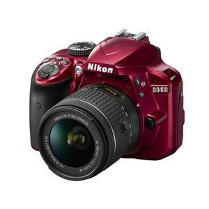 Camara Fotográfica Nikon D Roja Nueva