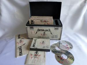 Metallica Live Shit: Usa Box Set 3 Cds + 3 Vhs Tapes  !