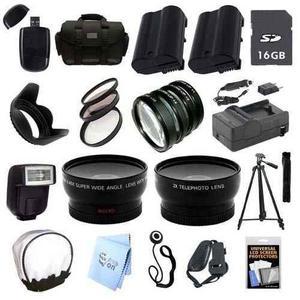 Paquete De Accesorios Ultra Profesional: Para Cámara Nikon
