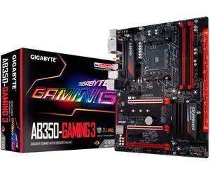 Tarjeta Madre Gaming Gigabyte Ga-ab350 Gaming 3 Am4 Ddr4