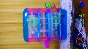 Pet-home Jaula Hamster 3 Pisos 40x26x53cm Hamster Jerbo
