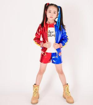 Harley Quinn Nina Super Heroe Dc Joker Halloween