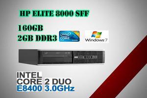 Hp Cpu Core 2 Duo  Elite Sff 160gb 2gb Envio Gratis