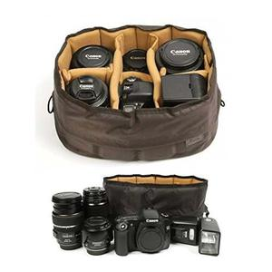 Ciesta Flexible Camera Insert Partition For Dslr Slr Lens (b