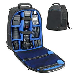 Dslr/slr Camera Backpack With Laptop Compartment By Usa Gear
