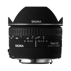 Lente Ojo De Pez Sigma 15mm F / 2.8 Ex Dg Diagonal
