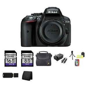 Nikon D Digital Slr Cámara (cuerpo) - Negro 24gb