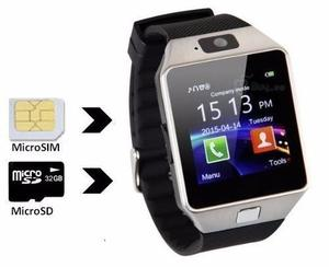 Reloj Celular Inteligente Smart Watch Dz09 Sim Micro Sd !!!!