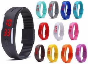 Reloj Pulsera Touch Digital Led Deportivo Colores Moda