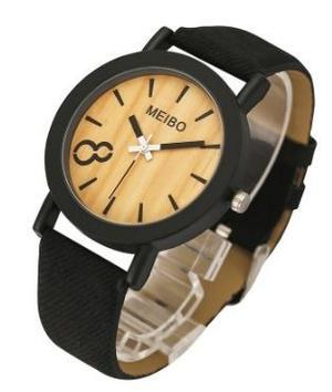 Reloj Vintage Casual Hombre Deportivo Madera Mujer