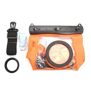 Tteoobl Orange Waterproof Bag Pouch Case Cover For Slr Dslr