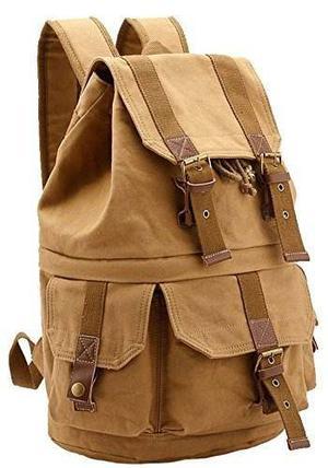 Y.s.y Canvas Dslr Slr Camera Shoulder Bag Backpack Rucksack