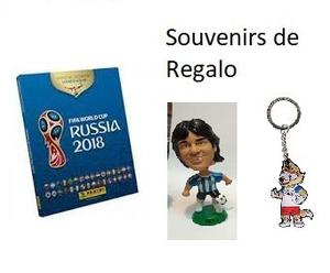 Album Panini Copa Del Mundo Rusia .completo Y Regalos