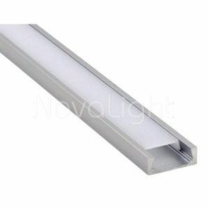 Bal-a020 Perfil De Aluminio Para Tiras Led 2mt (slim)