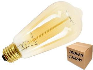 Foco Edison Vintage Tipo Bulbo 40w E27 5 Piezas Envio Gratis
