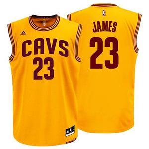 Jersey Playera adidas De Los Cavaliers De Lebron James