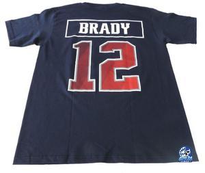 New England Patriotas Playera Mod 12 Tom Brady Nfl Danbr68