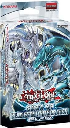 Yu-gi-oh Tcg: Structure Deck Saga Of Blue-eyes White Dragon