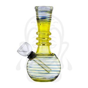 Bong (pipa De Agua) De Cristal Con Kick-hole (clutch) 13cm 3
