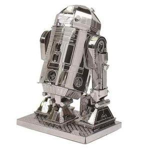 Fascinations R2-d2 Star Wars Rompecabezas 3d Metálico