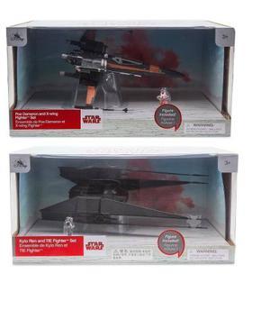 Poe Dameron X-wing Kylo Ren Tie Fighter Star Wars The Last J