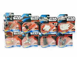 Star Wars Hot Wheels 8 Naves 8cm Mattel