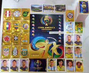 Album Panini Copa America Centenario Usa  Completo!