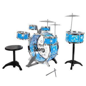 Equipo Tambores Para Niños Juguete Instrumento Musical Con