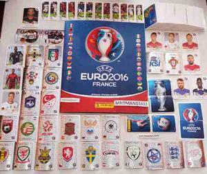 Estampas Sueltas Del Album Panini Euro  Francia Ronaldo
