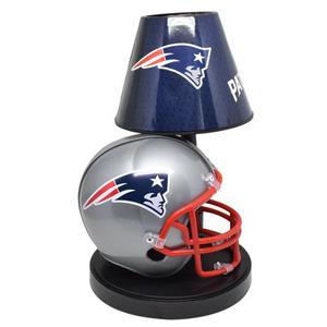 Lámpara Buró Nfl Colección New England Patriots Patriotas