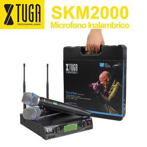 Microfono Inalambrico Skm Frecuencia De Automatica