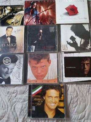 LUIS MIGUEL 10 CD's originales