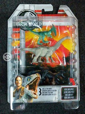 Jurassic World pack 3 mini indoraptor