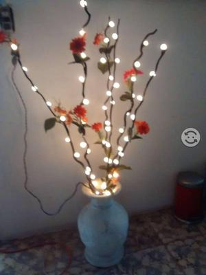 Adorno de lampara con luz Led