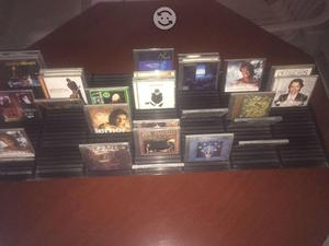 Exhibidor Contenedor de CDs en Alum. Color Negro