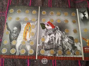 Coleccion de monedas del centenario y bicentenario