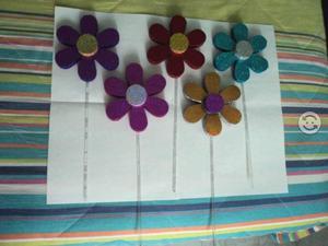 Flores de colores para decorar