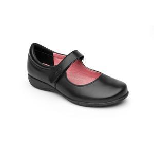 Calzado Zapato Escolar Flexi  Negro Niña