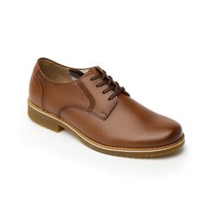 Calzado Zapato Escolar Flexi Niño  Tan