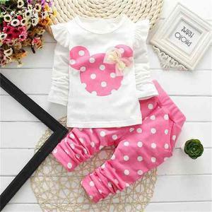 Conjunto (pantalon/blusa) Mickey Mouse Para Niña Envio