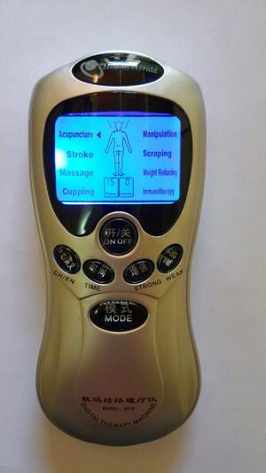 Electroestimulador muscular 4 pads nuevo